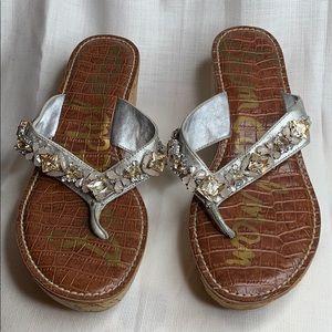 NWOT Sam Edelman wedge sandal - 6.5